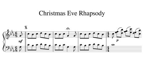 Christmas Eve Rhapsody