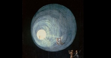 Detail of painting 'Ascent of the Blessed' by Hieronymus Bosch (circa 1450–1516) [Public domain], via Wikimedia Commons