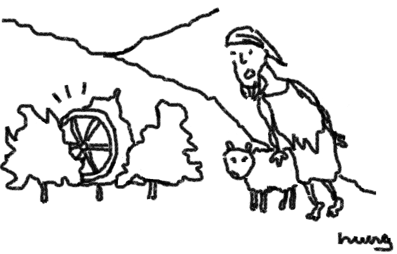 Dimitris Finds a Wheel