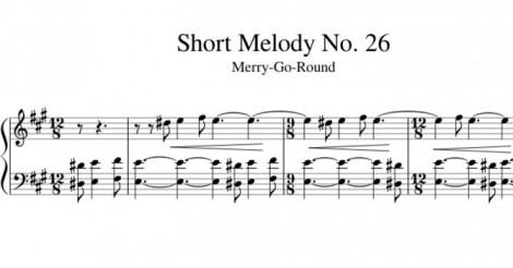 Short Melody No. 26 Merry-Go-Round